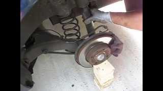 TUTO : remplacement amortisseur arrière peugeot 307,skoda