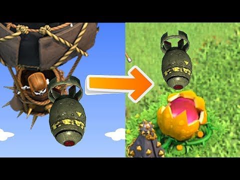 SCARY PUMPKIN EATS NUKES!!!!!   Clash Of Clans   CLAN GAMES!!!