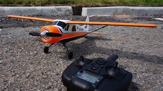 XK A600 5CH Brushless DHC-2 Scale Plane - First Flight