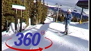 peak 10 breckenridge ski resort 360 virtual reality video google cardboard