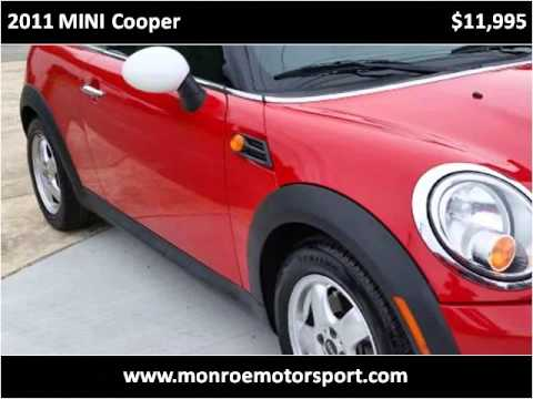 2011 Mini Cooper Used Cars Monroe Nc Youtube