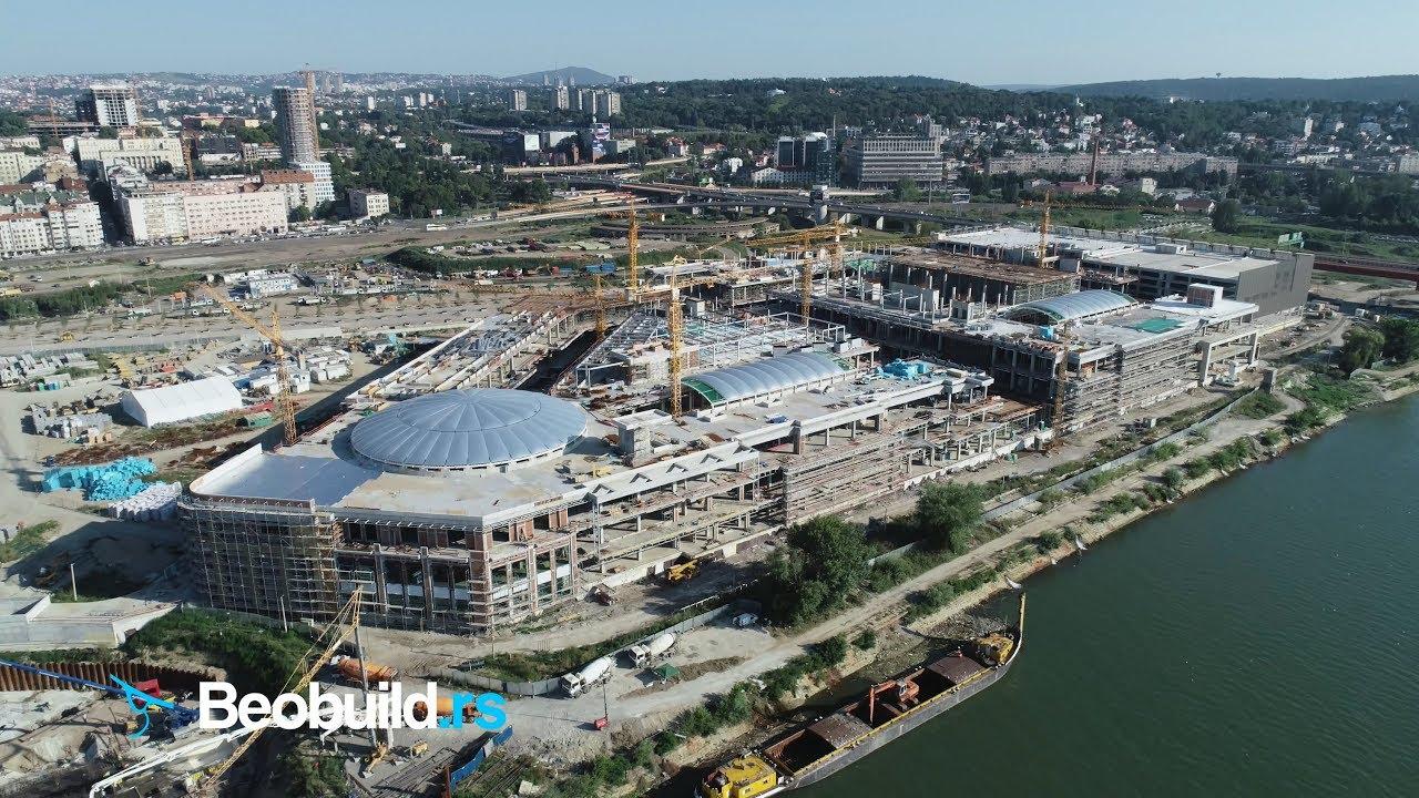 Beograd Na Vodi Trzni Centar Bw Galerija Avgust 2019 4k Uhd