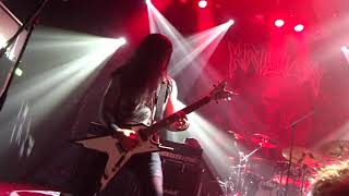 Krisiun - Scourge Of The Enthroned Live @ P60 Amstelveen 20-04-19