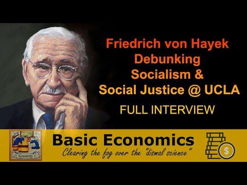 Friedrich von Hayek and Axel Leijonhufvud - Nov 1978