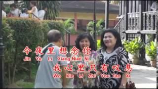Karaoke Mei You Liu Xia Di Zhi (Vocal Male + Red Text)