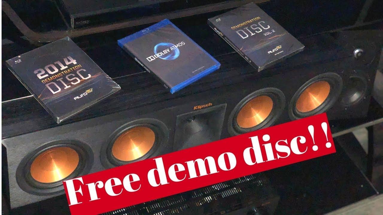 FREE AURO-3d DEMO DISC!?! Here's how