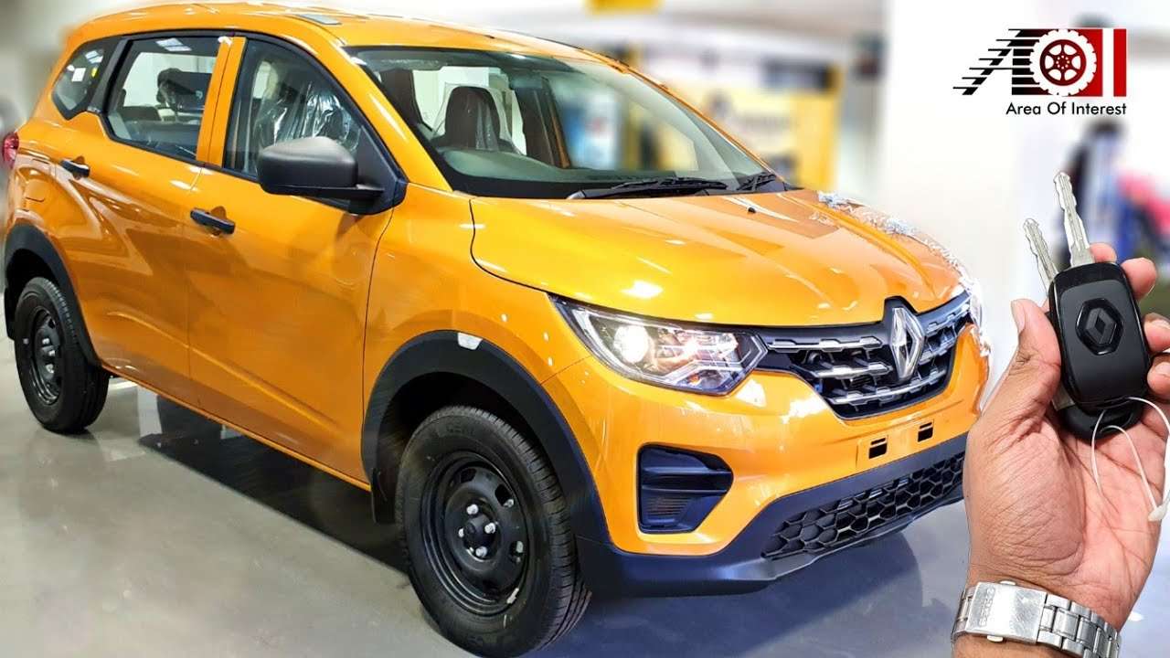 2019 Renault Triber Rxe Base Model 7 Seater On Road Price Mileage Features Specs Interior Youtube