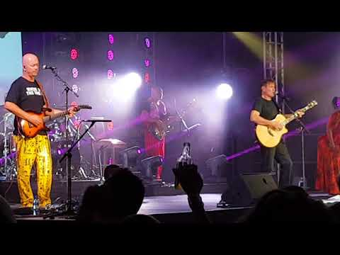 Johnny Clegg Live in Port Elizabeth. 2018