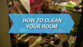 How to Clean Your Room