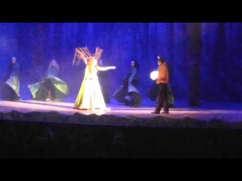 Arielle Performing in Big Fish