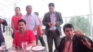 Kumar Sanu - The leading Indian Playback Singer Visits Chandragiri hills