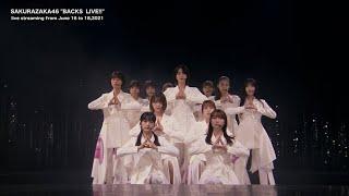 櫻坂46『BACKS LIVE!!』(for J-LODlive)