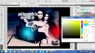 ∞ Tutorial OO3    MulticolorEfffect    per Gimp e Photoshop