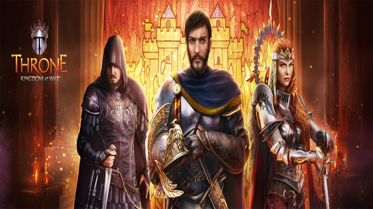 Throne Kingdom At War Android Gameplay Hd Youtube