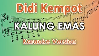 Didi Kempot - Kalung Emas (Karaoke Lirik Tanpa Vokal) by regis