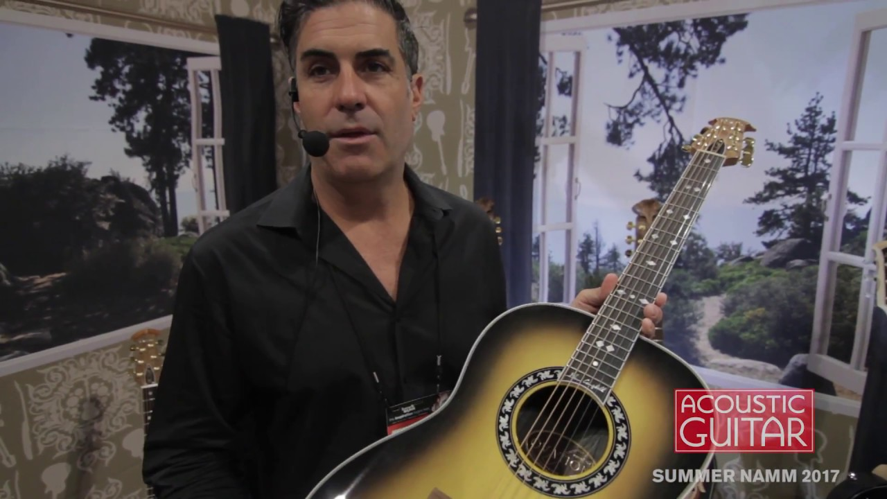 Ovation Introduces the Glen Campbell Signature Model [Summer NAMM 2017]