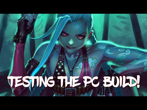 "Testing #VR Build with League of Legends ""One for All"" Gameplay"