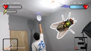 Man Vs Fly! - Real Life Boss Fight (Video Game Parody)