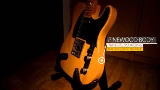 Squier Telecaster Eross Chandra Signature Series (Product Video Example)