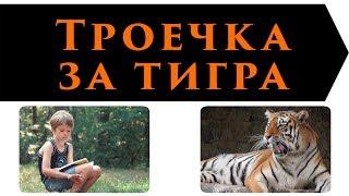 Троечка за тигра   Леонид Каминский   Рассказы для детей