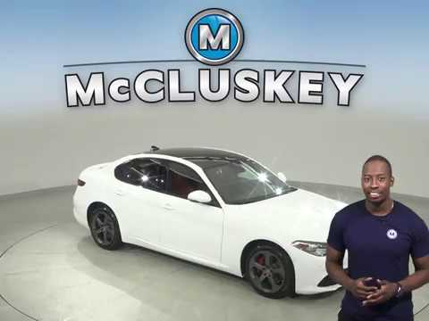 A15314GT Used 2018 alfa Romeo Giulia White Test Drive, Review, For Sale -