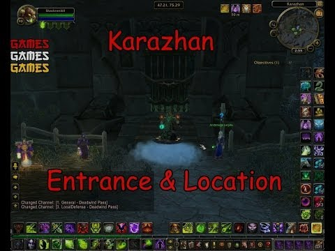 Karazhan Raid Entrance & Location