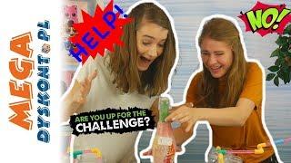 Mix Drink Challenge  Kto otworzy szampana?  Monia i Agatka