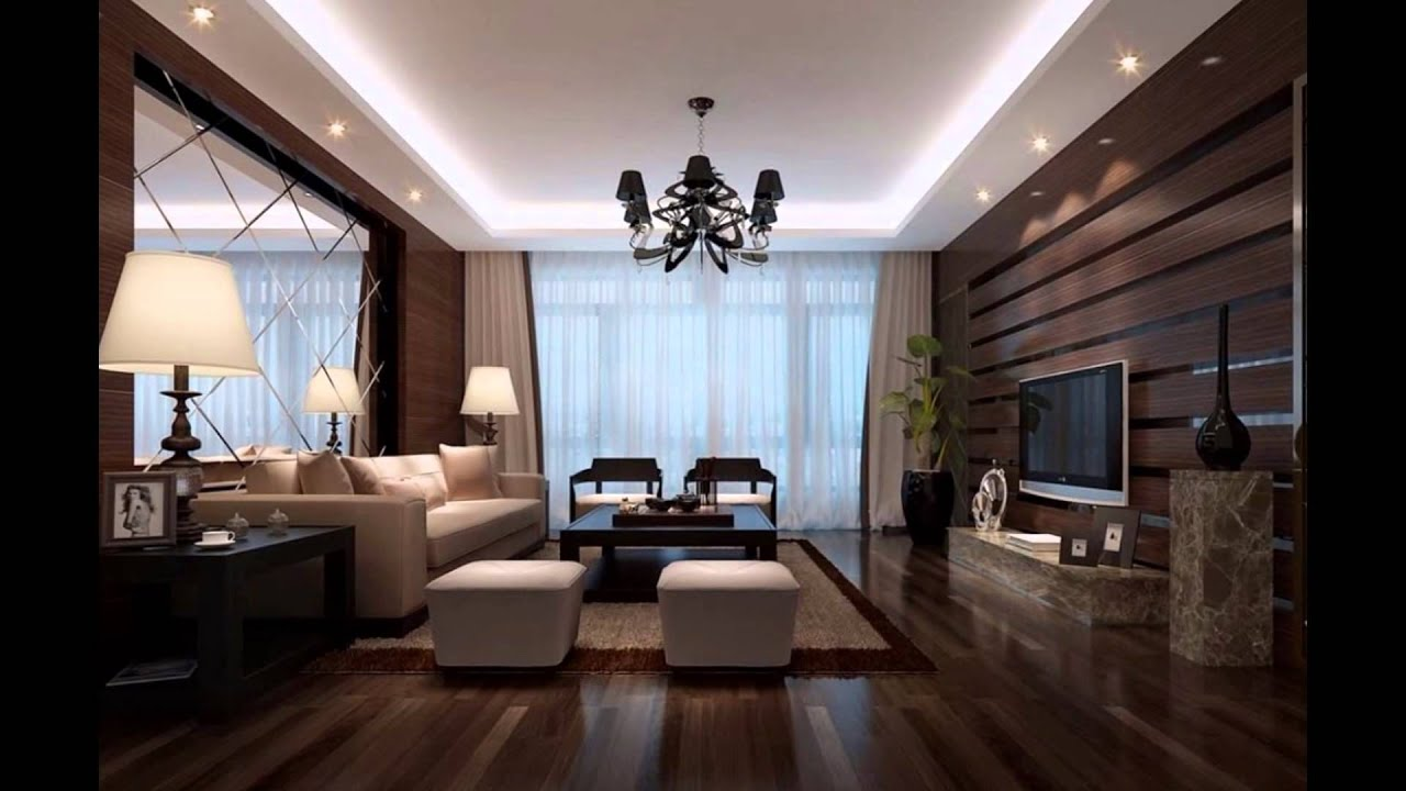 living hall wall design youtube