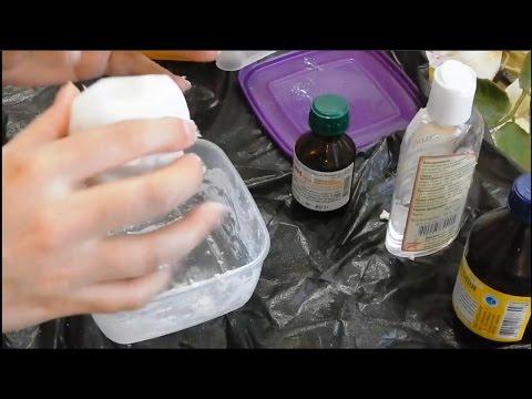 Холодный фарфор без варки из доступных ингредиентов  Cold porcelain without cooking from the availab
