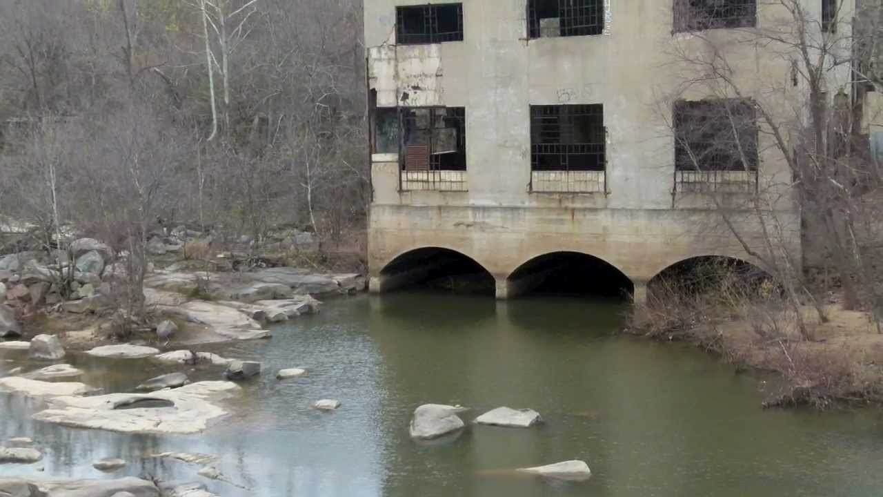 Belle Isle Abandoned Hydroelectric Plant