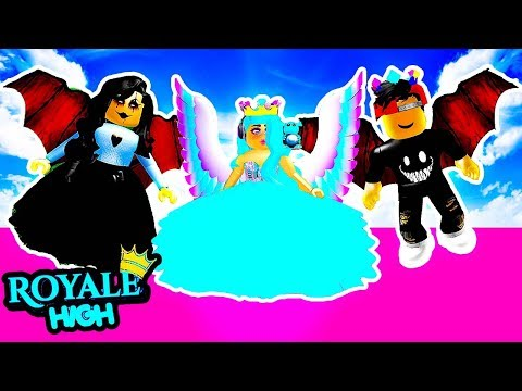 DARK FAIRY TURNED MY SISTER EVIL! CAN I ESCAPE? Roblox Royale High Royal High School Roblox Roleplay