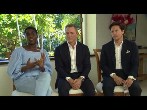 BOND 25 - ANNOUNCEMENT INTERVIEWS (DANIEL CRAIG, CARY FUKUNAGA AND LASHANA LYNCH)