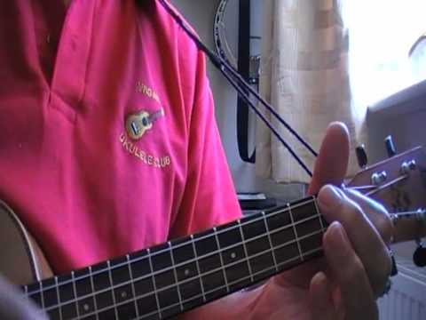 As Time Goes By Ukulele Cover Showing Chords Youtube