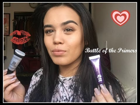 Battle of the eye shadow Primers: Smashbox vs. Urban Decay