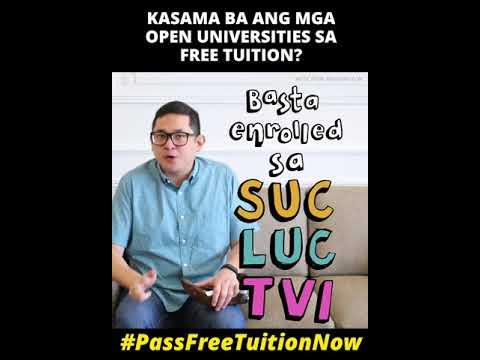 ASK BAM: Kasama ba ang mga Open Universities sa Free Tuition?