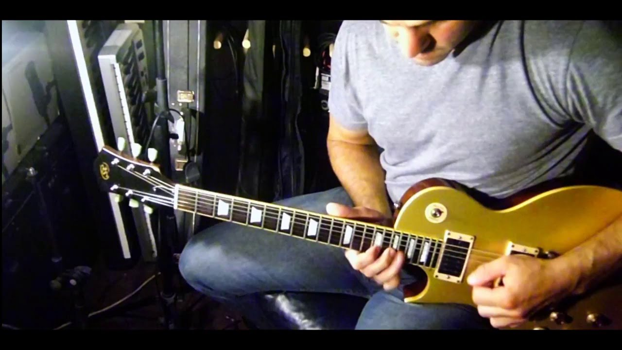 J.S.Bach Invention n° 8 F Mayor for electric guitar - YouTube