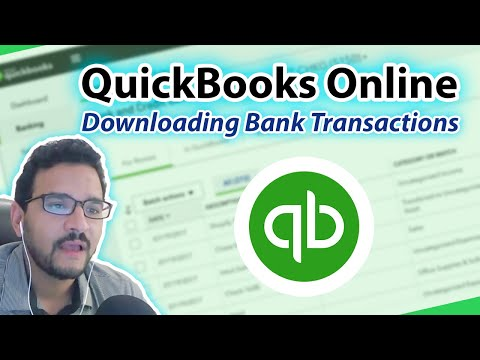 QuickBooks Online 2017 Tutorial: Downloaded Bank Transactions (Part 1)