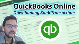 QuickBooks Online 2018 Tutorial: Downloaded Bank Transactions