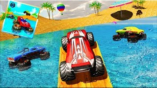 Monster Truck Water Surfing: Truck Racing Games - Android Gameplay 2019 HD