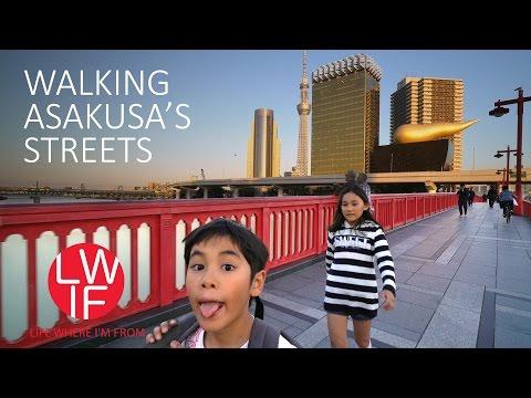 Walking Asakusa's Streets in Tokyo, Japan