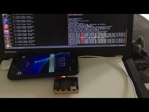 Emergency Button with Asterisk PBX and micro:bit