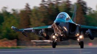 Военные самолеты успешно приземлились на трассу М-4. Су-25 даже впервые ночью