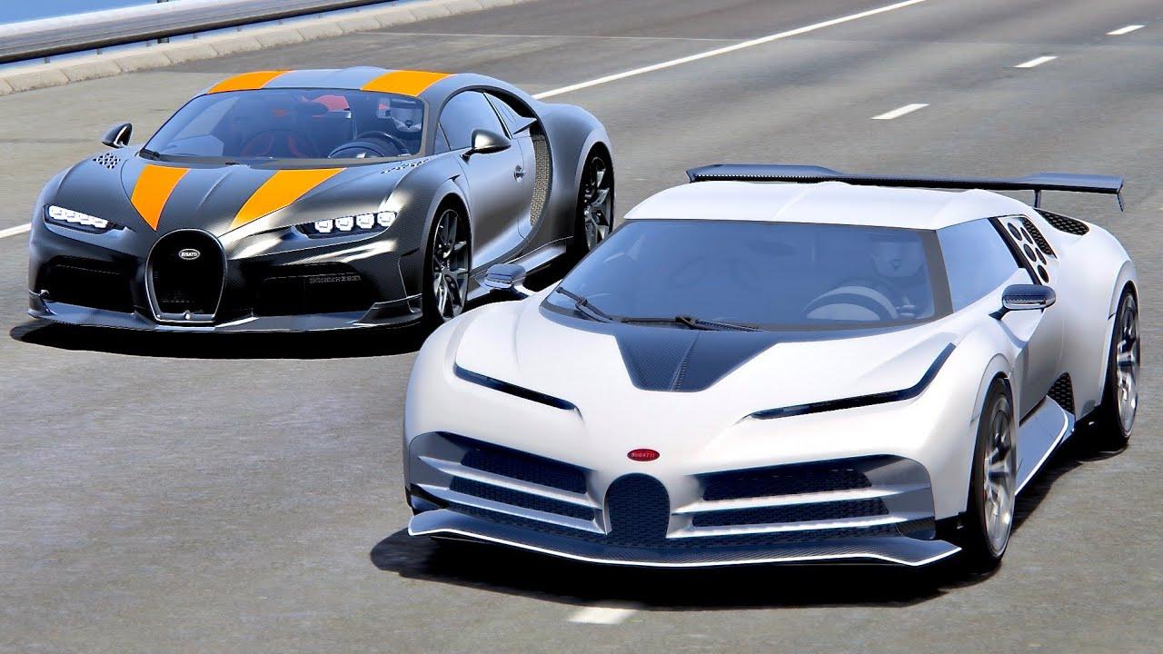 Bugatti Centodieci Vs Chiron Supercars Gallery