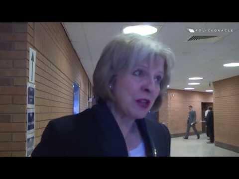 Steve White: 'Home secretary, we are not friends'