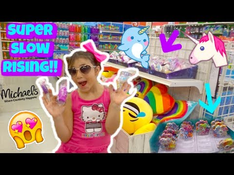 BRAND NEW SQUISHIES AND FIDGET SPINNERS AT MICHAELS!!! | SQUISHY SHOPPING VLOG