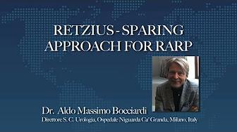 Retzius Sparing Prostatectomy Posterior Approach Bocciardi