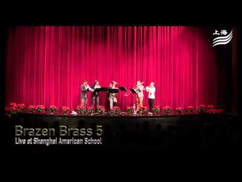 Brazen Brass 5 Middle School Recital @ Shanghai American School