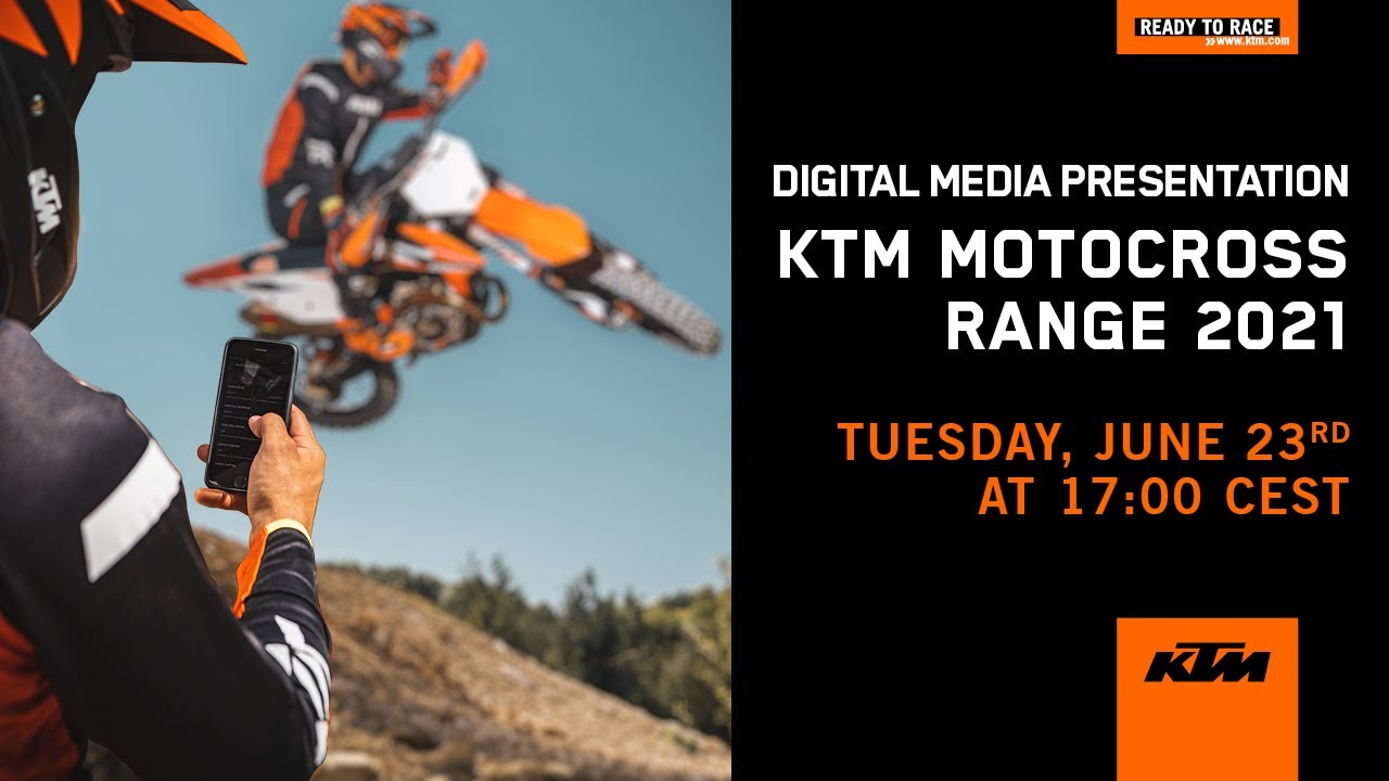 Introducing the 2021 KTM Motocross range   KTM
