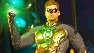Injustice 2 PC - All Super Moves on Green Lantern Tournament Costume 4K Ultra HD Gameplay