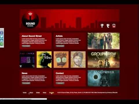 SoundState: Independent Music Label - Website